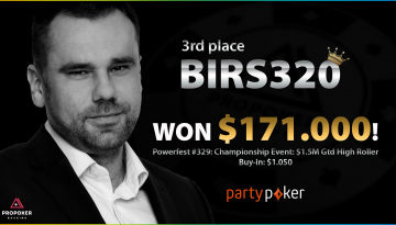 birs320 finished WCOOP with an amazing score (interview)